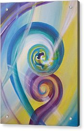 Fusion Acrylic Print by Reina Cottier