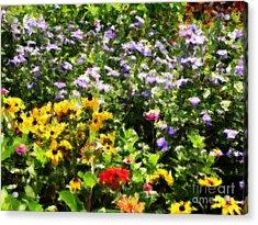 Gail's Garden Acrylic Print