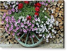 Garden Decor Acrylic Print
