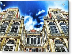 Genova Palazzo Reale - Royal Palace Of Palazzo Dei Rolli Acrylic Print by Enrico Pelos