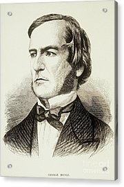 George Boole, English Mathematician Acrylic Print