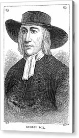 George Fox (1624-1691) Acrylic Print by Granger