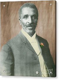 George W. Carver, African-american Acrylic Print by Science Source