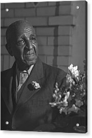 George Washington Carver 1864-1943 Acrylic Print by Everett