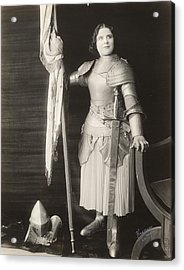Geraldine Farrar (1882-1967) Acrylic Print by Granger