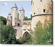 Germans Gate Metz France Acrylic Print