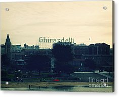 Ghirardelli Square Acrylic Print by Linda Woods
