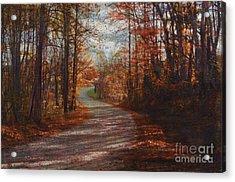 Gibson Ridge Road Acrylic Print