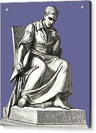 Giovanni Cassini, Italian Astronomer Acrylic Print by Sheila Terry