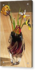 Glass Bouquet 1 Acrylic Print by Steve Ohlsen