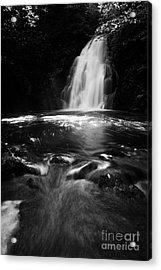 Gleno Or Glenoe Waterfall County Antrim Northern Ireland Uk Acrylic Print by Joe Fox