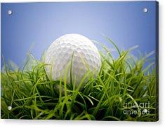 Golfball Acrylic Print