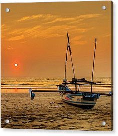 Good Morning #sunrise Acrylic Print by Tommy Tjahjono