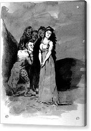 Goya Copy Acrylic Print