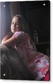 Grace Acrylic Print by Thelma Hendrix