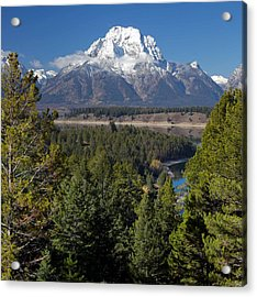 Grand Teton National Park Acrylic Print