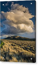 Great Basin Cloud Acrylic Print by Greg Nyquist