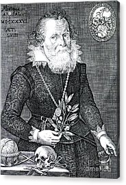 Gregor Horstius, German Physician Acrylic Print by Science Source