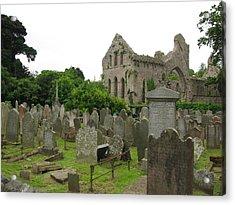 Greystone Abbey Acrylic Print by Lynn Lary
