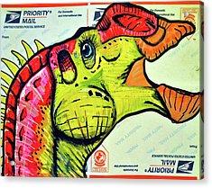 Gryposaurus Acrylic Print