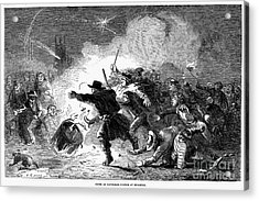 Guy Fawkes Day, 1853 Acrylic Print by Granger