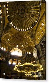 Acrylic Print featuring the photograph Hagia Sofia by Leslie Leda
