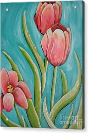 Haile Spring Acrylic Print by Holly Donohoe