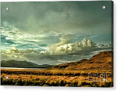 Hallelujah Junction Acrylic Print by HD Connelly