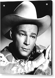 Hands Across The Border, Roy Rogers Acrylic Print by Everett