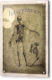 Happy Halloween Acrylic Print by Jeff Burgess