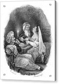 Harem Acrylic Print by Granger