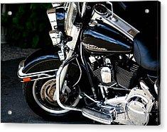 Harley Davidson  Acrylic Print by Karen Scovill