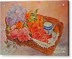 Acrylic Print featuring the painting Harvest by Beatrice Cloake