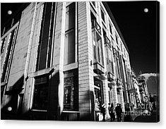 Harvey Nichols Store St Andrew Square Edinburgh Scotland Uk United Kingdom Acrylic Print by Joe Fox