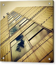 Havenbridge House #building #windows Acrylic Print
