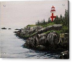 Head Harbour Lighthouse Acrylic Print by Jack Skinner
