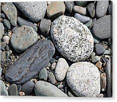 Healing Stones Acrylic Print by Cathie Douglas