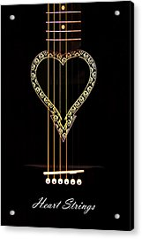 Heart Strings Acrylic Print