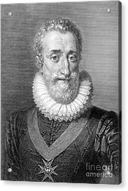 Henry Iv (1553-1610) Acrylic Print by Granger
