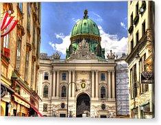 Hofburg Palace - Vienna Acrylic Print by Jon Berghoff