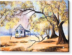 Home Home On The Range Acrylic Print by Coralie Smyth