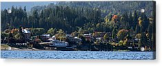 Acrylic Print featuring the photograph Home Sweet Kaslo by Cathie Douglas