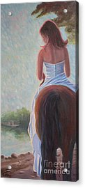 Acrylic Print featuring the photograph Honeymoon Ride by Gretchen Allen