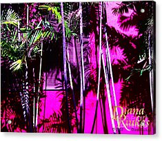 Acrylic Print featuring the photograph Hot Caribbean Day by Diana Riukas