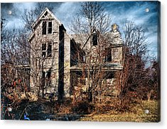 House In Ruins Acrylic Print