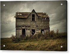 House On The Hill Acrylic Print by Heather  Rivet