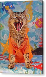Acrylic Print featuring the photograph Howl by Joann Biondi