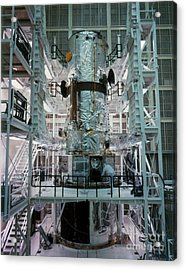 Hubble Space Telescope Acrylic Print by NASA/Science Source