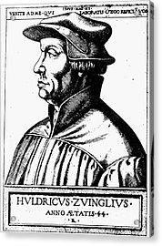 Huldreich Zwingli Acrylic Print by Granger