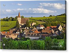 Hunawihr Alsace Acrylic Print by Brian Jannsen